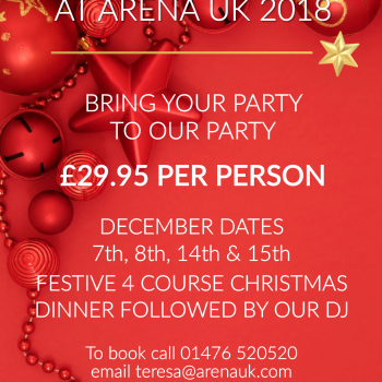 Christmas Party in a Party <br><b>(Various dates available)</b>